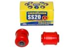 Сайлентблок нижнего рычага 2108 SS20 (полиуретан, красный) 2шт  70114