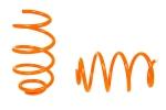 Пружины передних стоек 1119, 2170, 2190 ТЕХНО РЕССОР (драйв, оранжевые -50мм) 2шт