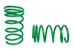 Пружины передних стоек 2108-2112 ТЕХНО РЕССОР (зеленые -70мм) 2шт