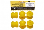 Втулка реактивной тяги (малая) 2101 VTULKA (полиуретан, желтая) 6шт. 17-01-002