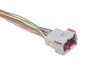 Разъем соединяющий жгут системы зажигания с пучком провод. панели приборов E-GAS