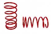 Пружины передних стоек 2108-2112 ТЕХНО РЕССОР КОМФОРТ (красные -30мм) 2шт