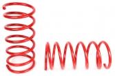 Пружины передних стоек Hyundai Accent ТЕХНО РЕССОР (красные -30мм) 2шт