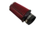 Фильтр воздушный нулевого сопротивления Pro.Sport компакт угловой красный хром D70 закрытый Chrome