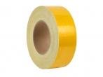 Пленка - лента светоотражающая, желтая (ширина 5 см., в рулоне 47м.)