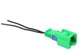 Разъем для элемента обогрева сидений ЕВРО 1118, 2190 (евроразъем) 2 провода