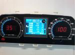 Комбинация приборов электронная 2110-2115, 21214, 2123 FLАSH-X101 (светодиодная, RGB, полифония)
