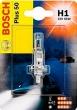 Лампа галогеновая H1 12-55 +50% BOSCH