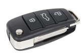 Ключ замка зажигания 1118, 2170, 2190-люкс, DATSUN, 2123 (выкидной, без платы) по типу Audi эконом