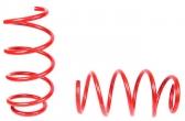 Пружины передних стоек Веста ТЕХНО РЕССОР (красные -30мм) 2шт