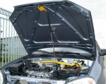Упор капота Chevrolet Lanos (2005-), Daewoo Lanos (Sens) (1997-2002) на растяжку ТМ