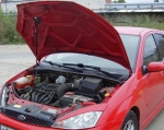 """Упор капота Ford Focus 1 (1998-2004) (с сборе с кронштейном) """"ТехноМастер"""""""