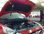 "Упор капота Hyundai Solaris (2010-) одинарный, без кронштейна ""ТехноМастер"""